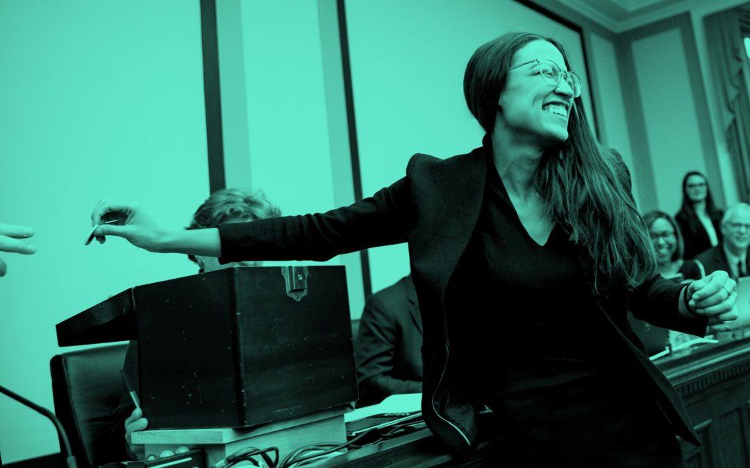 How Alexandria Ocasio-Cortez Shapes a New Political Reality
