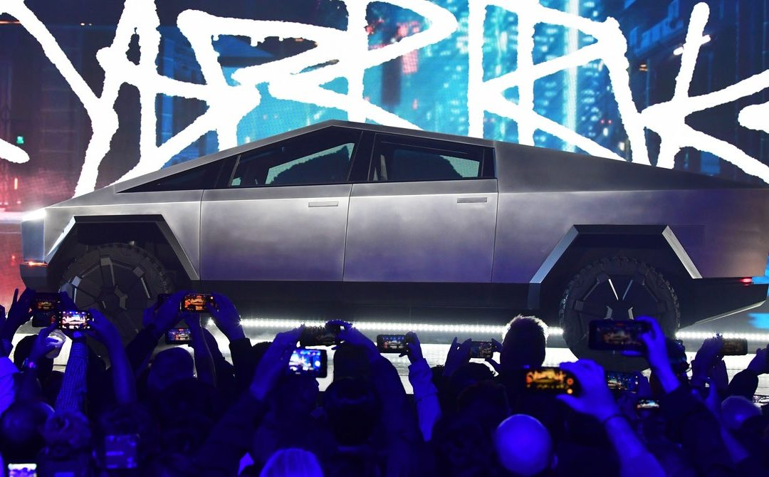 Tesla's Cybertruck Could Be Ripped, Mean, and Super Green